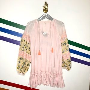 NEW Free People oversized tunic top